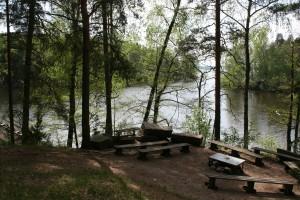 Piha-alueen nuotiopaikka